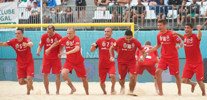 Пляжный футбол - Локомотив