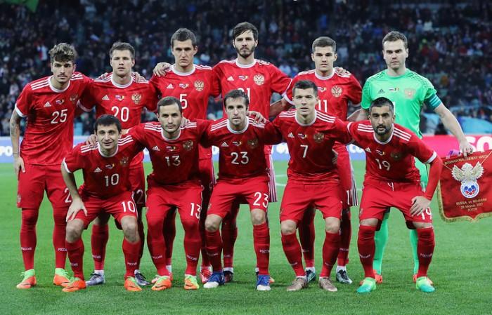 ФИФА.  Сборная России