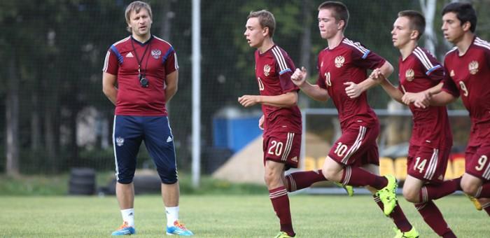 Юношеская сборная России.