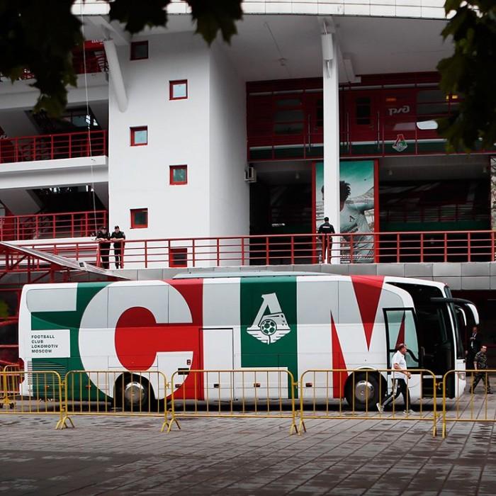 Новый дизайн клубного автобуса
