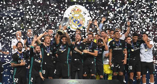 Суперкубок.  Реал Мадрид