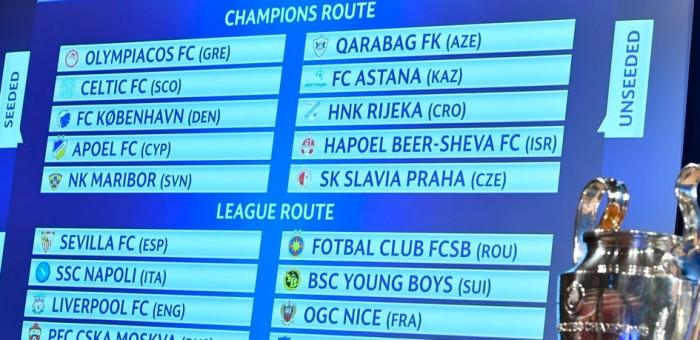 Лига чемпионов.  Лига Европы