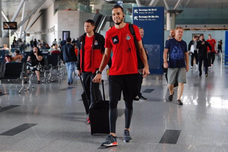 Футболисты «Локомотива» отправляются в Копенгаген