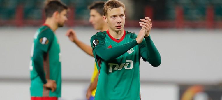 Михаил Лысов - Локомотив