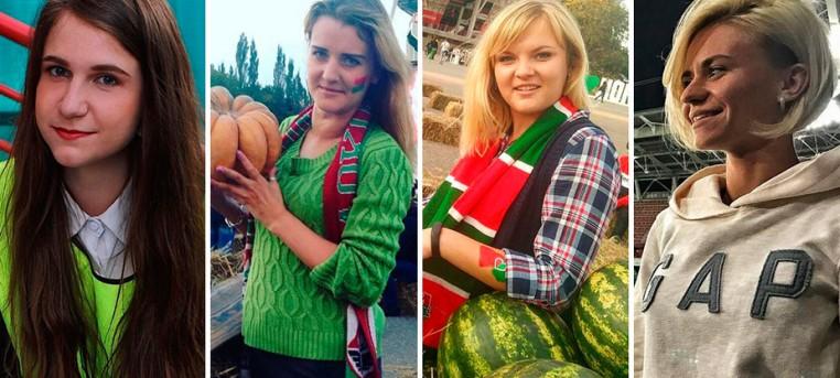 Самые красивые болельщицы с матча против «Амкара»
