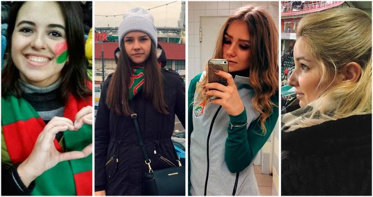 Самые красивые болельщицы с матча против ЦСКА
