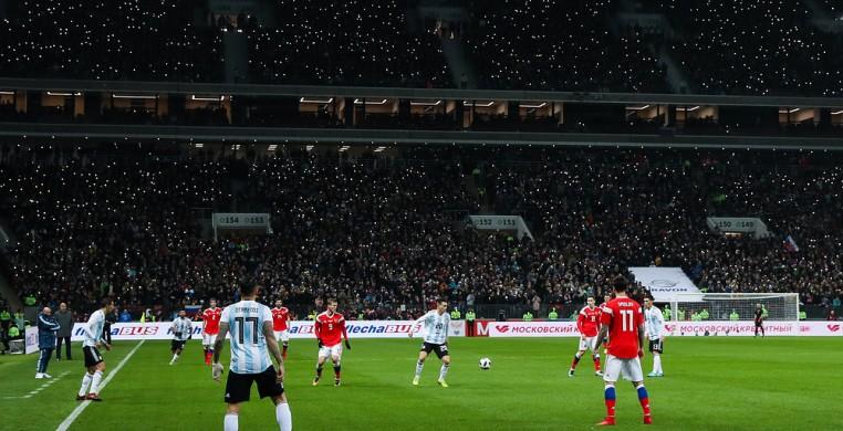 Сборная России.  сборная Аргентины