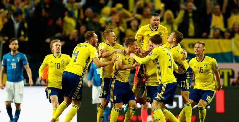 Чемпионат Мира.  Сборная Швеции