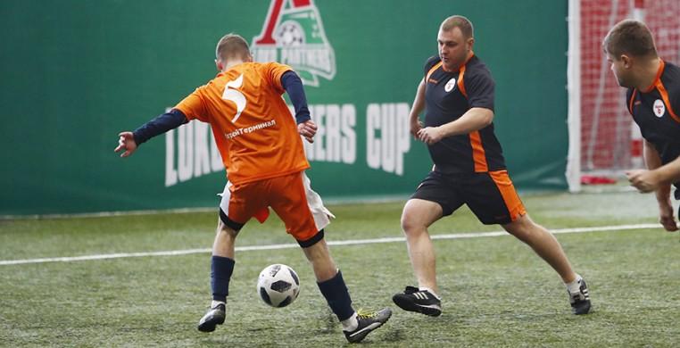 Футбольный праздник для партнеров