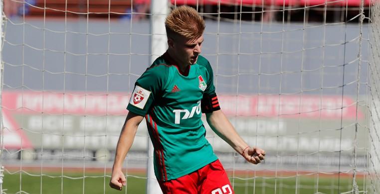 Юношеская сборная России - Локомотив