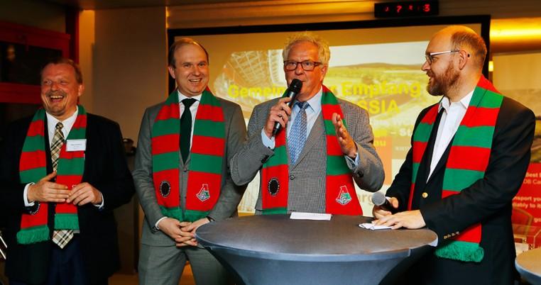 Торжественный приём русско-немецкого бизнес-клуба Wirtschaftsclubrussland