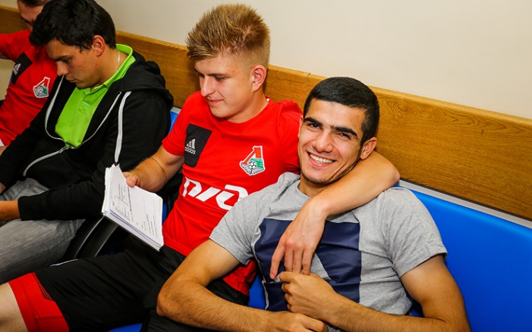 Молодёжная команда «Локомотива» вышла из отпуска