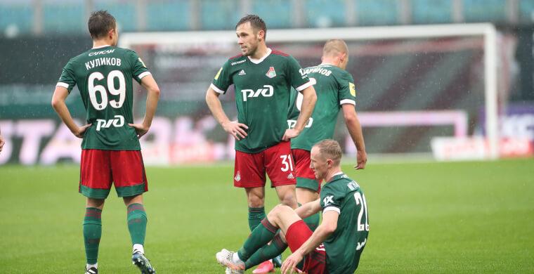 «Локомотив» сыграл вничью с «Динамо» и поднялся на 2-е место в РПЛ